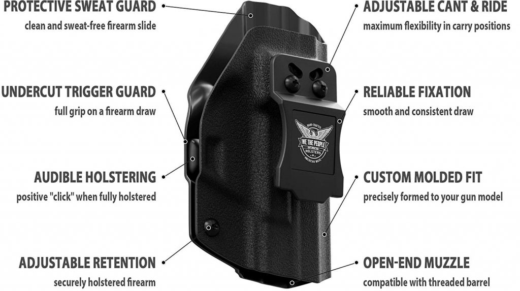 We the People Concealed Carry Kydex Holster