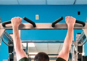 pull ups for increasing strength and handgun accuracy